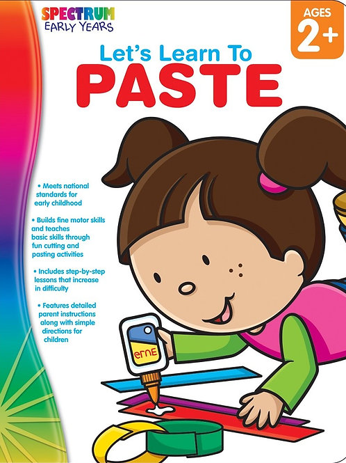 Let's Learn to Paste Workbook