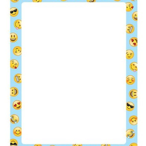 Emoji Fun Designer Printer Paper