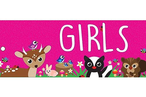 Woodland Girls Laminated Pass
