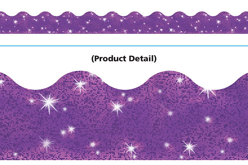 Purple Sparkle Border