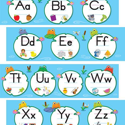 FUNky Frogs Alphabet