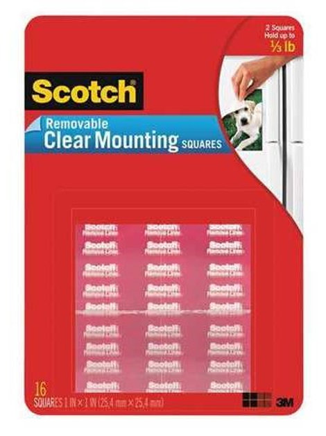 SCOTCH REMOVEABLE MOUNTING