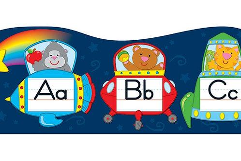 Alphabet Spaceships