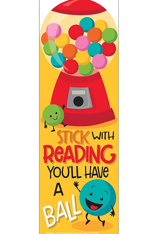 Bubble Gum Scented Bookmarks