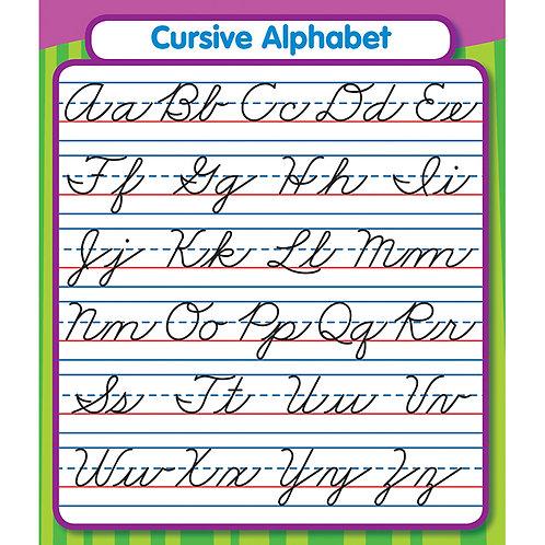 Cursive Alphabet Sticker Pack