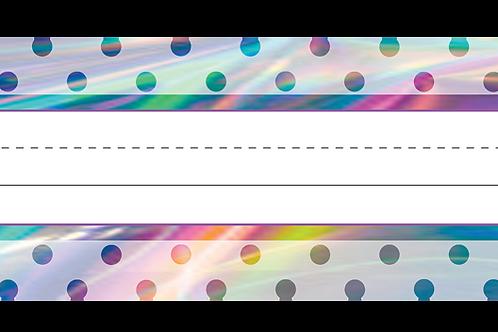 Iridescent Flat Name Plates