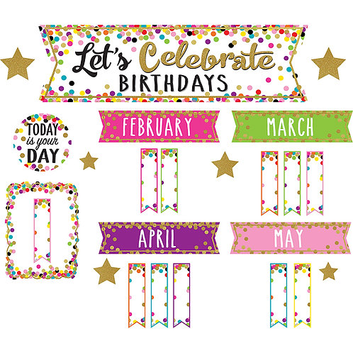 Confetti Lets Celebrate Birthdays
