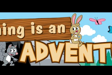 Ranger Rick Learning Is An Adventure Banner