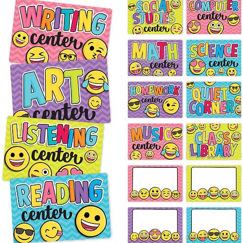 Emoji Center Signs