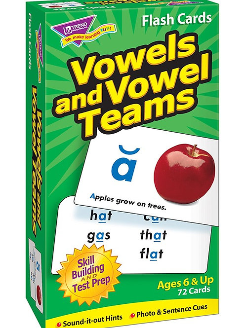 Vowel and Vowel Team Flashcards