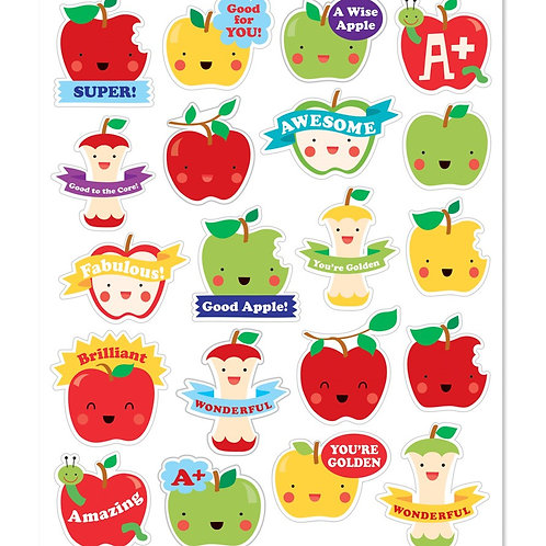 Apple Scented Stickers