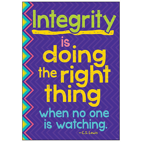 INTEGRITY IS DOING THE RIGHT