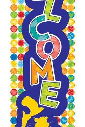 Dr. Seuss™ Spot on Seuss Welcome Banner