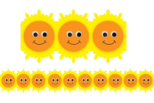 Happy Sun Border