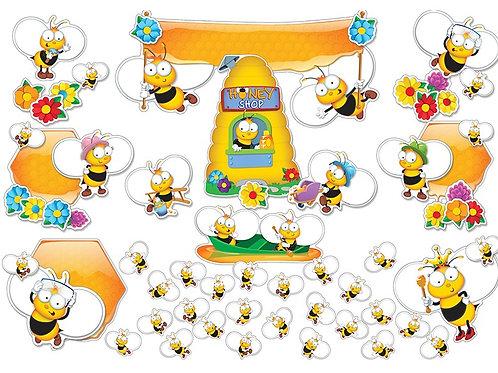 Buzz–Worthy Bees Bulletin Board Set