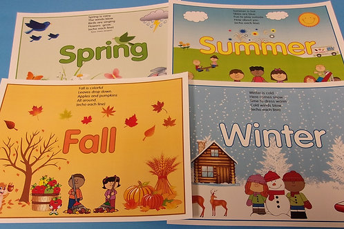 Four Seasons Flashcards