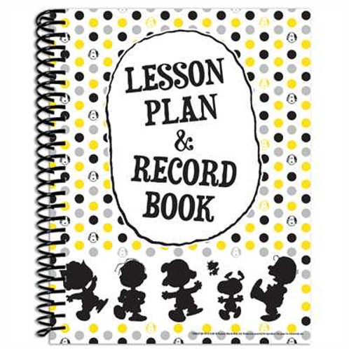 Peanuts® Touch of Class Lesson Plan Record Book