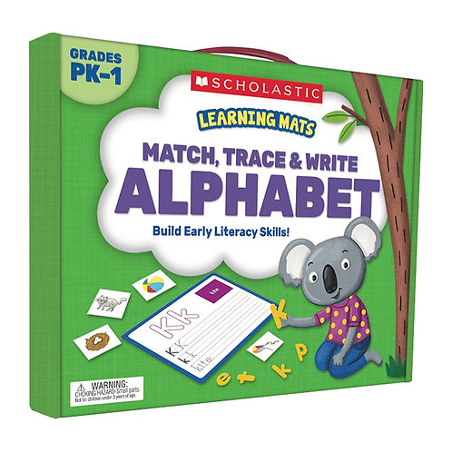 Alphabet Learning Mats: Trace, Match and Write