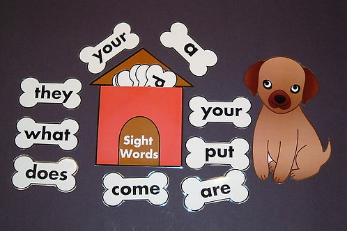 Sight Word/Dog House