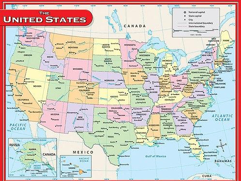 US Map Chart
