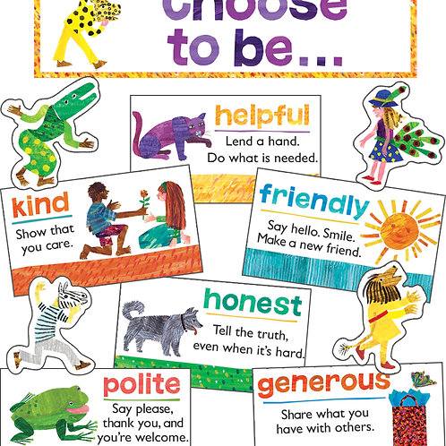 World of Eric Carle™ Positive Character Traits