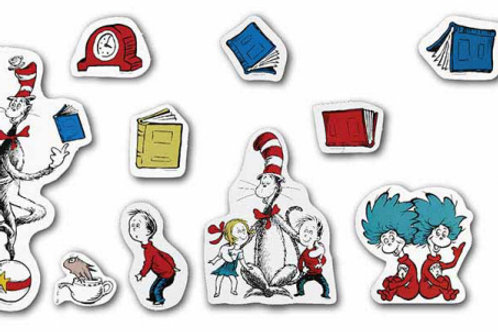 Cat in the Hat™ Large Characters Bulletin Board Se