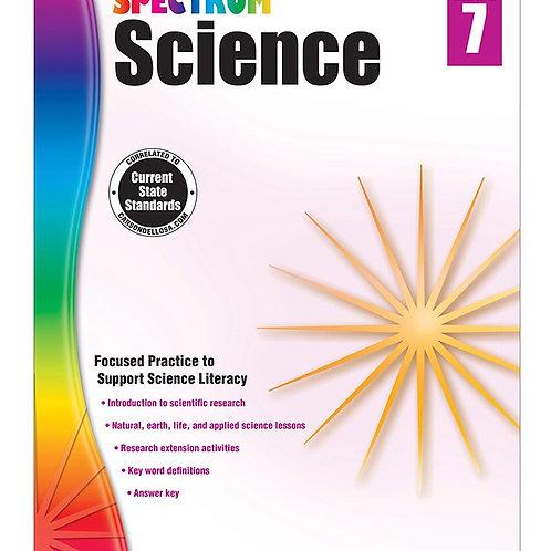 Spectrum Science Workbook Gr 7