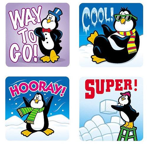 Penguins Motivational Stickers