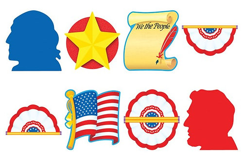 Patriotic Pride Classic Accents® Variety Pack