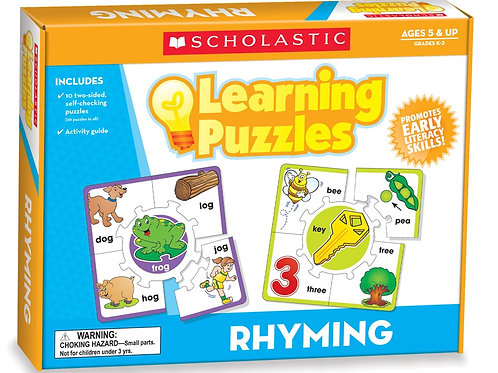 Learning Rhyming Puzzle