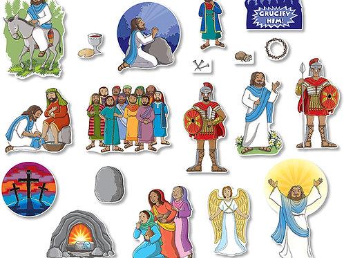 Easter Story Bulletin Board Set