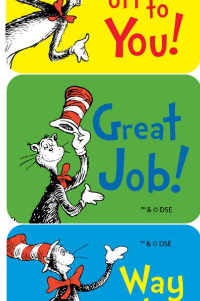 Cat in the Hat™ Success Stickers
