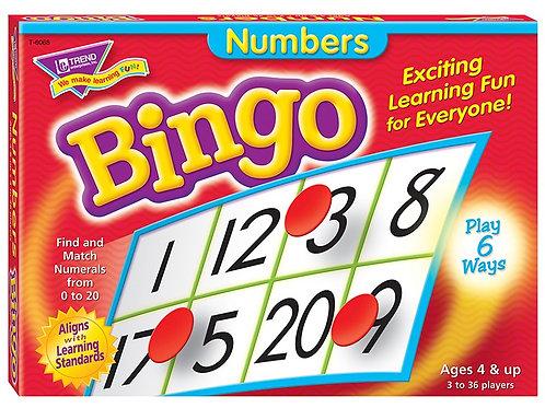 Numbers Bingo Game