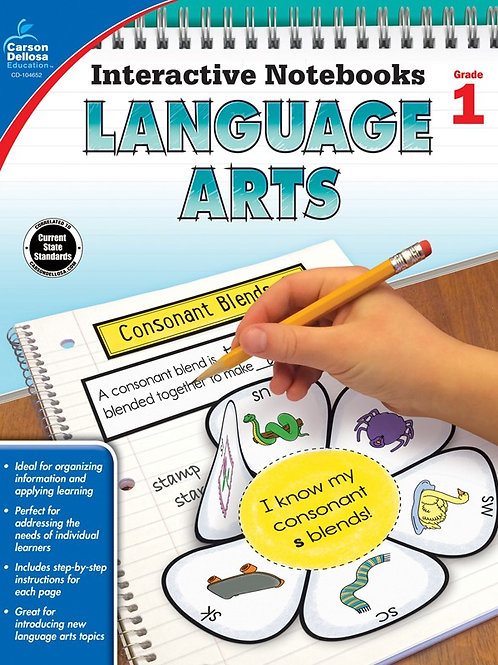 Interactive Notebooks: Language Arts Gr 1