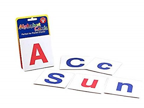 Alphabet cards-Upper and Lower Case