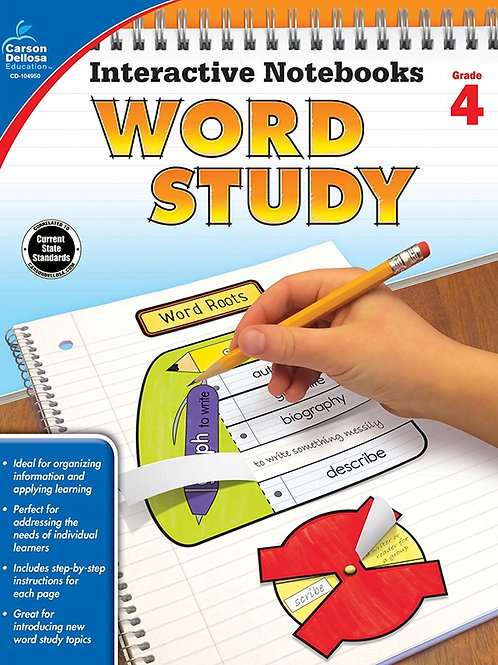 Interactive Notebooks: Word Study 4th Gr