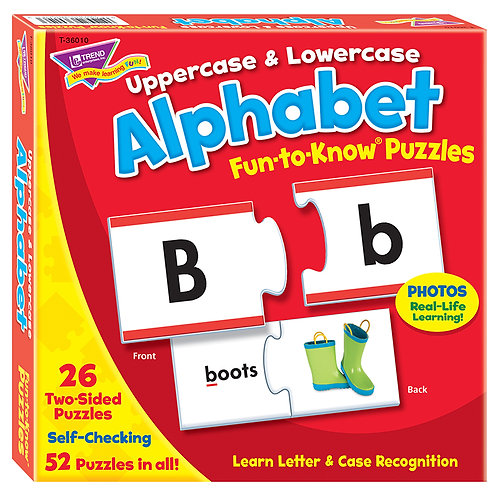 Fun to Know Puzzle- upper and lower case