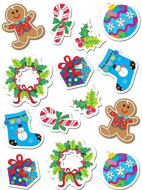 Winter and Christmas Stickers