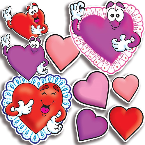 Valentine Heart Accents