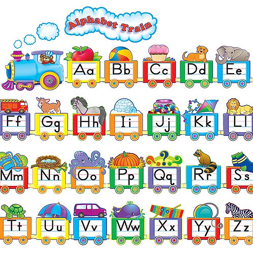 Alphabet Train Set