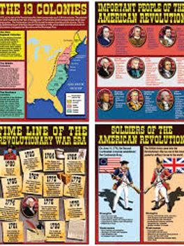 The Revolutionary War Era Poster Set
