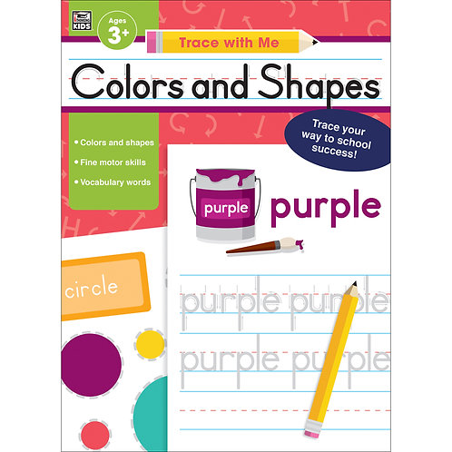 Colors and Shapes Activity Book