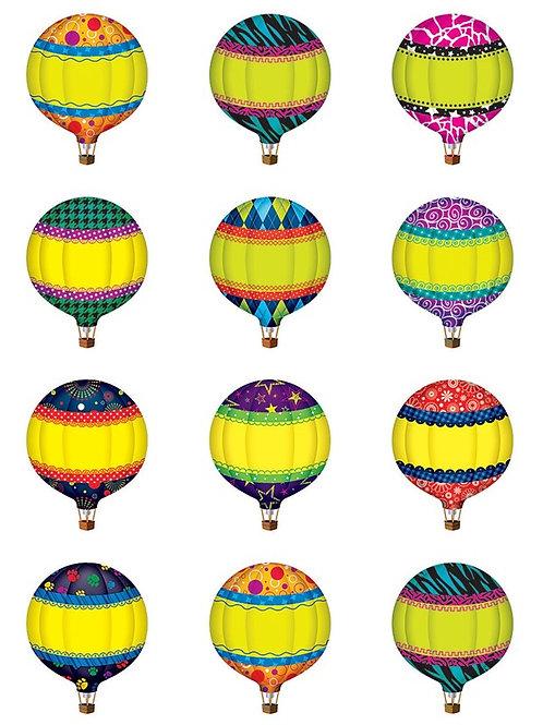 Hot Air Balloons Mini Accents