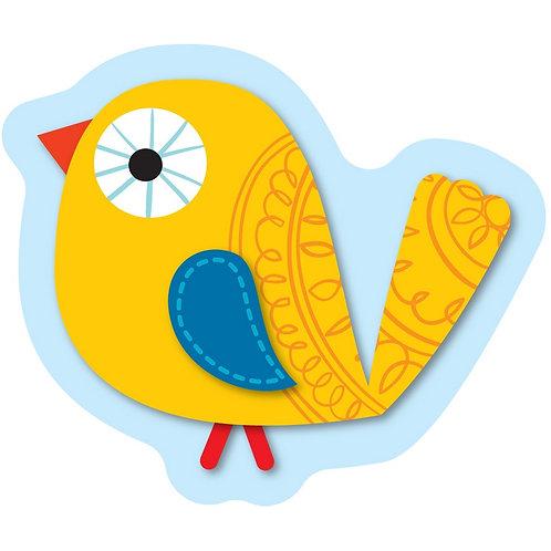 Boho Birds Mini Cut-Outs