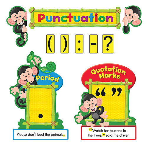 Monkey Mischief® Punctuation