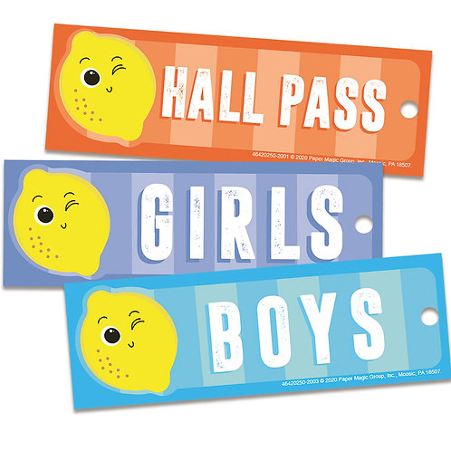 Always Try Your Zest Hall Passes
