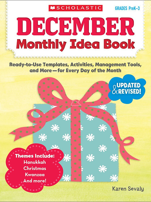 December Monthly Idea Book