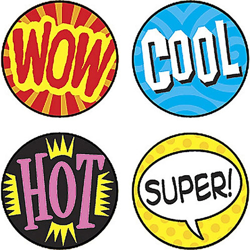 Wow Word Stickers - 800 Stickers