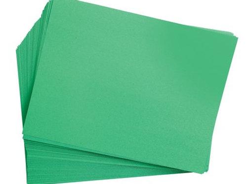 Holiday Green Construction Paper Black 9 x 12 50 Sheets