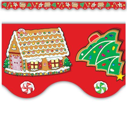 Christmas Scalloped Border